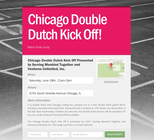 Black girls jump chicago-double-dutch-kick-off